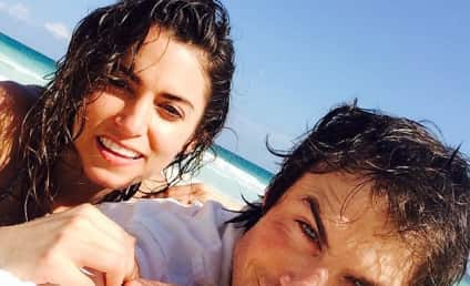 Ian Somerhalder and Nikki Reed: Practicing For Kids!