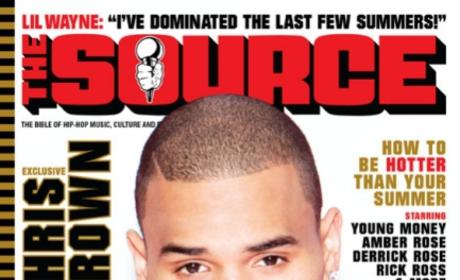 Chris Brown: The Source Cover