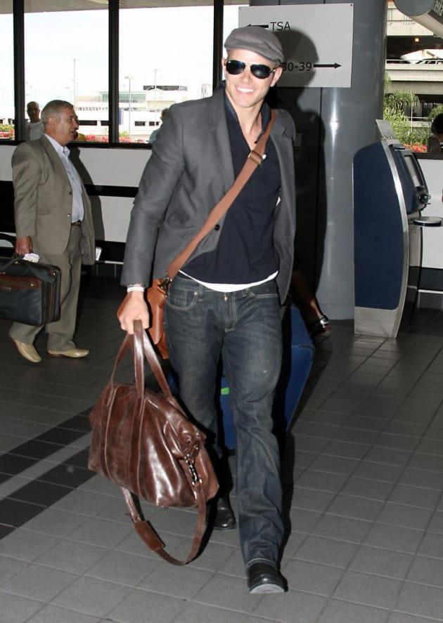 Kellan at the Airport