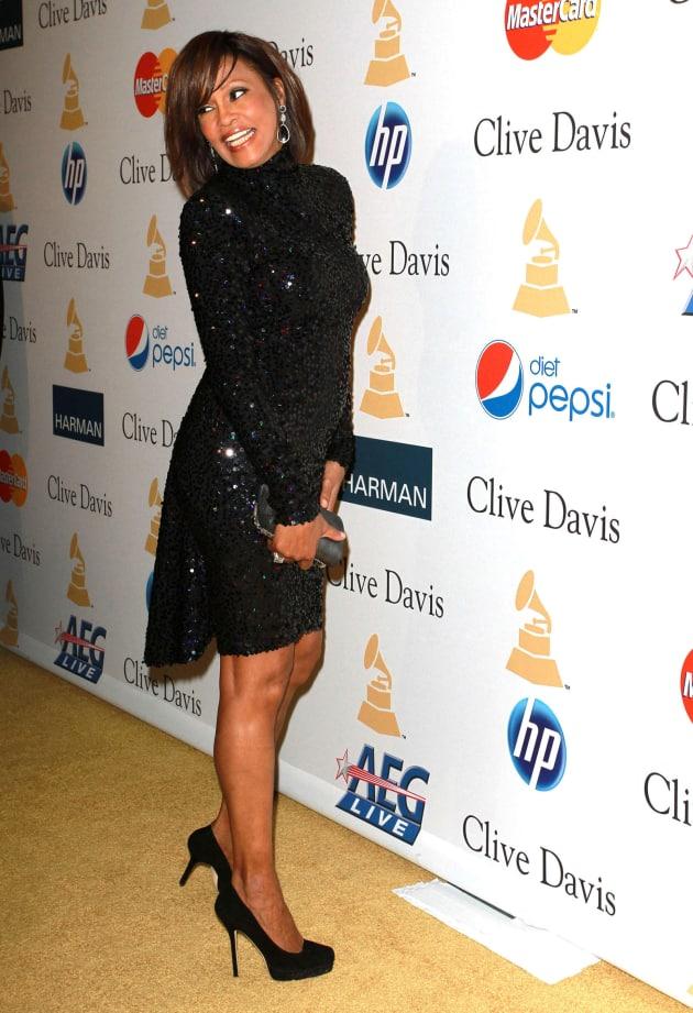 Whitney Houston on a Red Carpet