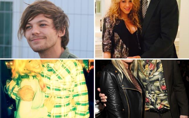 Louis tomlinson smirks