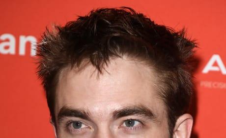 Robert Pattinson Smirks