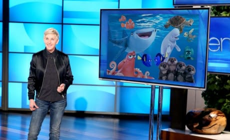 Ellen DeGeneres Talks Finding Dory