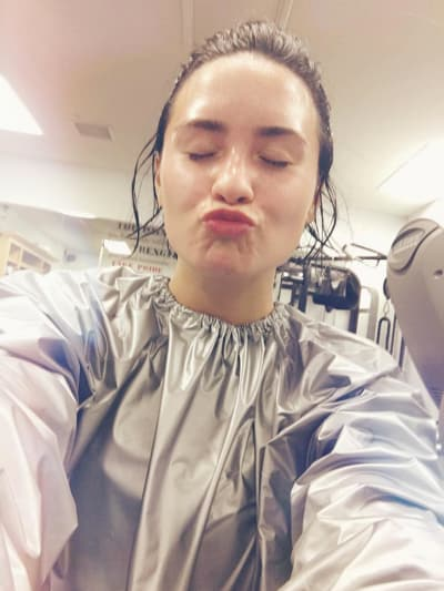 Demi Lovato: No Makeup for Me!