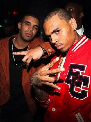 Chris and Drake