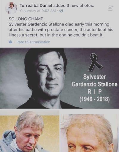 RIP Sly