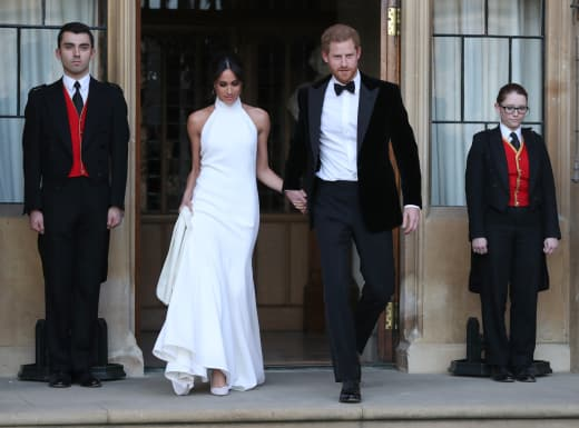 Meghan and Harry's Second Outfits