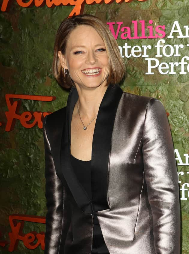 Jodie Foster Smiling