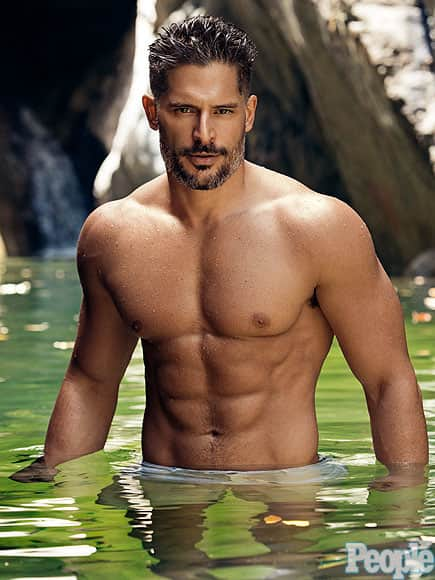 Shirtless Joe Manganiello