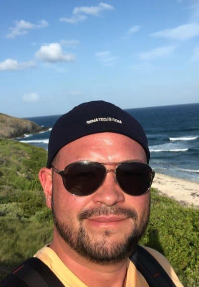 Jon Gosselin in St. Croix