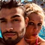 Britney Spears and Sam Asghari Selfie