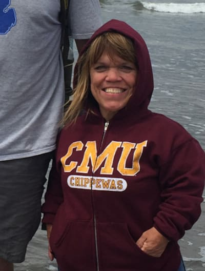 Amy Roloff on the Beach