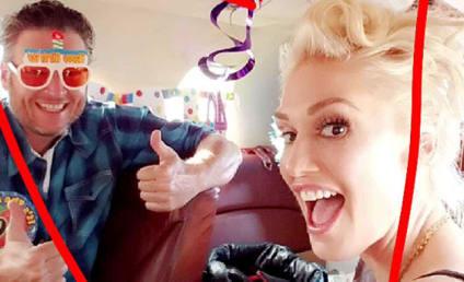 Blake Shelton Celebrates 40th Birthday With Gwen Stefani: PHOTOS