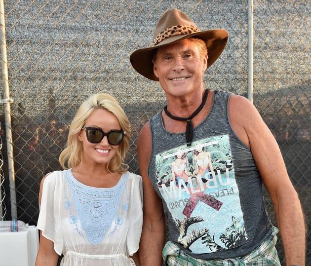 Nu Way Auto >> David Hasselhoff: Engaged to Hayley Roberts! - The ...