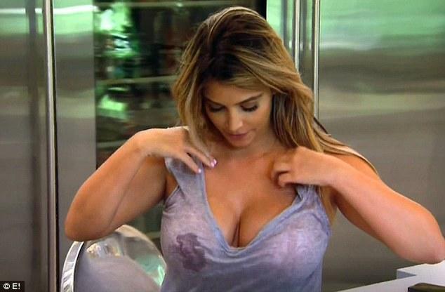 Kim Kardashian Boob Leak