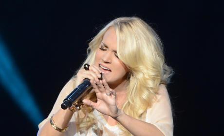 Carrie Underwood in London