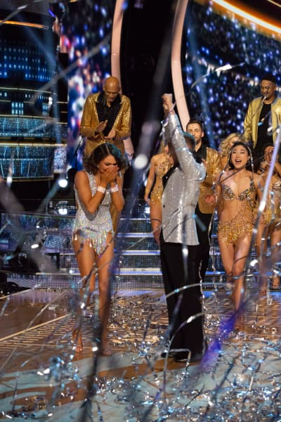 Adam Rippon, Jenna Johnson Win Dancing with the Stars