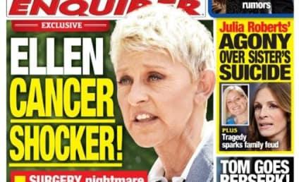 "Ellen DeGeneres ""Cancer Shocker"" Story: Not True!"
