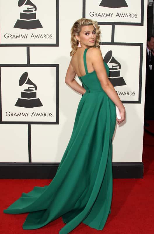 Tori Kelly at 2016 Grammy Awards