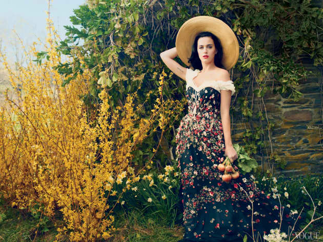 Katy Perry Vogue Pic
