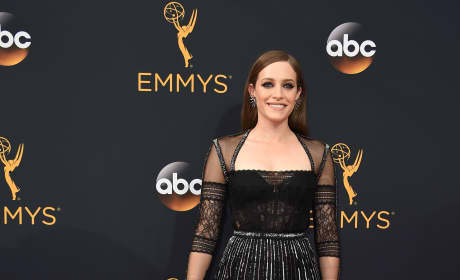 Carly Chaikin at the Emmys