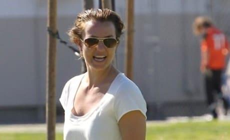 Britney Spears, White Dress