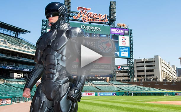 RoboCop First Pitch