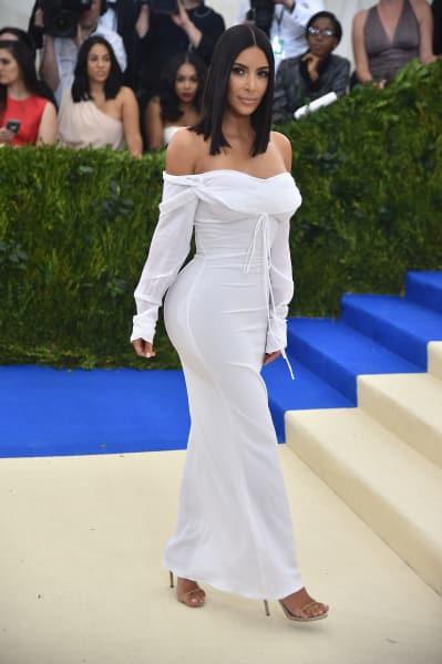 Kim Kardashian for the MET Gala