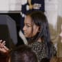 Sasha Obama in the White House