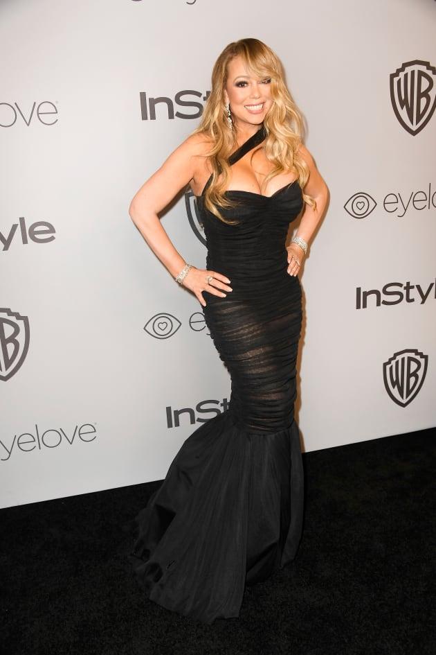 Mariah Carey on Red Carpet
