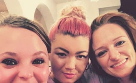Catelynn Lowell, Amber Portwood, and Maci Bookout
