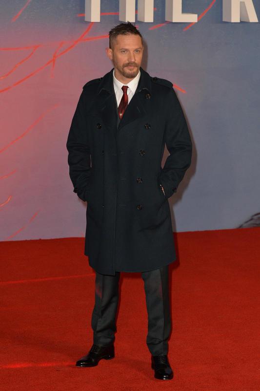 Tom Hardy: UK Premiere of 'The Revenant'