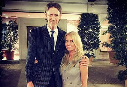 Monty Brinson with Kim Richards