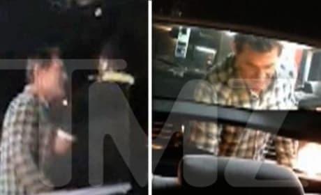 Josh Brolin Rear-Ends Cab, Loses It