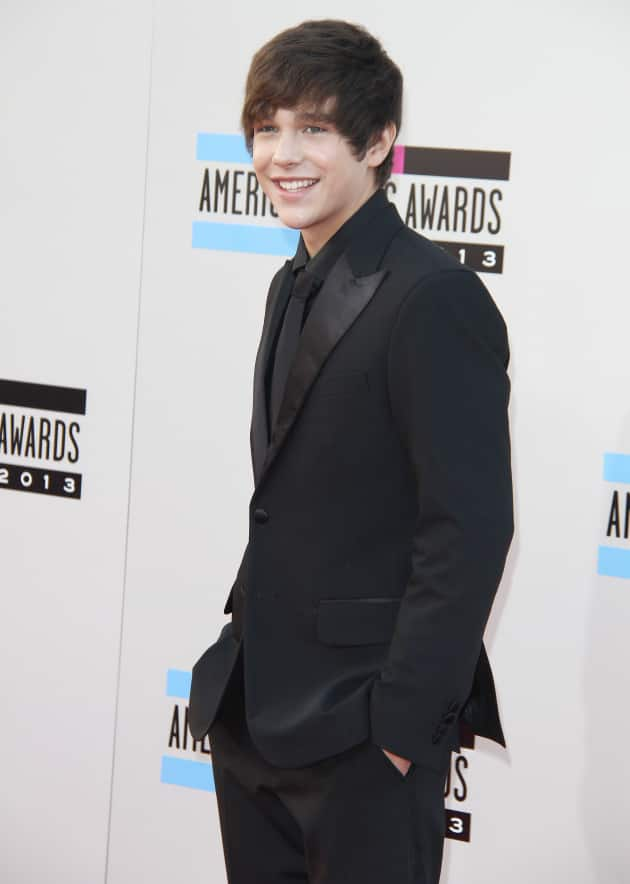 Austin Mahone at American Music Awards