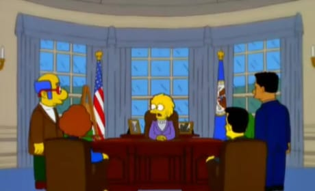 The Simpsons Predicted Donald Trump Would Be President