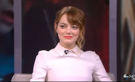 Emma Stone: I Love Andrew Garfield