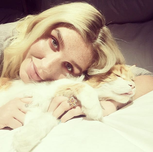 Kesha Looks Happy At Last
