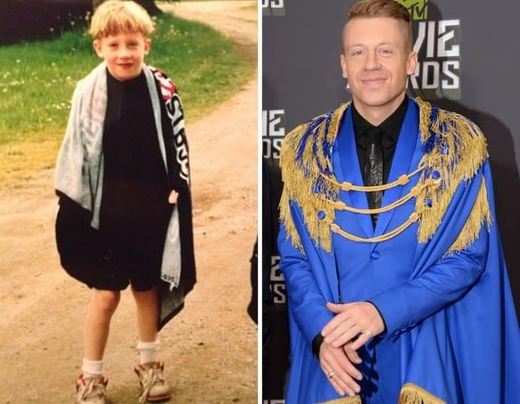 Macklemore as a Kid