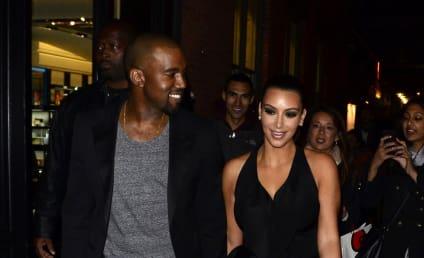 Kim Kardashian and Kanye West: Hand Holding Alert!