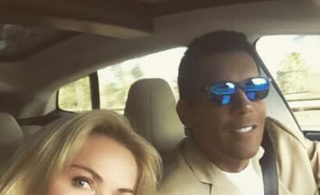 Kathryn Edwards Car Selfie Pic