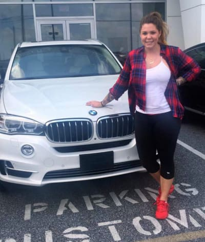Kailyn and Her BMW