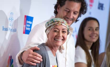 Shannen Doherty Kurt Iswarienko Stand Up To Cancer Pic