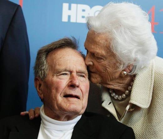 George and Barbara Bush
