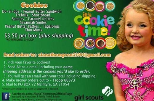 Honey Boo Boo Girl Scouts