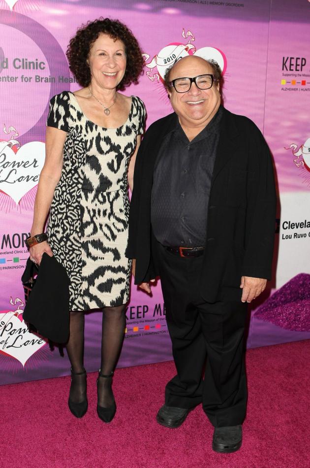 Danny DeVito and Rhea Perlman