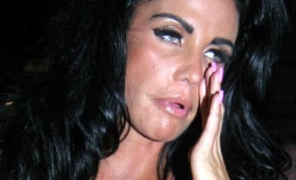 "Katie Price Calls Crowd ""C--ts,"" Ruins Gay Wedding"