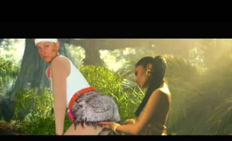 Ellen DeGeneres Joins Nicki Minaj 'Anaconda' Video