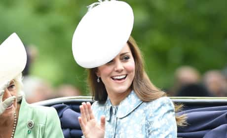 Kate Middleton Wears Big Ass Hat