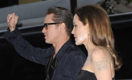 Angelina Jolie Makeup Mishap: She Missed a Spot!